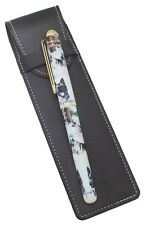 More details for norwegian elkhound breed of dog themed pen with pen case perfect gift