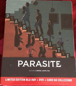 Parasite Bluray+DVD+Card da Collezione Steelbook Edizione Limitata Sigillato