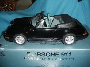529A Anson 30313 Porsche 911 carrera 4 cabriolet 1:14 + Boite