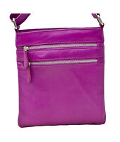 Pimehide Soft Leather Medium Crossbody Shoulder Bag 984 SALE SALE NOW £12.99