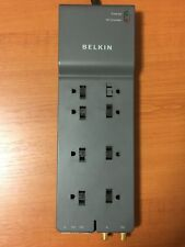 Belkin BE108231-12 8 Outlet Telephone Surge Protector