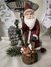 Weihachtsmann Decorative Figurine Christmas Shabby Chic Landhaus 7 7/8in