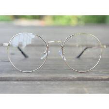 1920s Vintage classic oliver eyeglasses retro 15R30 Gold frames kpop peoples