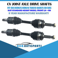 2 CV JOINT AXLE DRIVE SHAFTS for TOYOTA HILUX KUN26R GGN25R 2005-2015 (STANDARD)