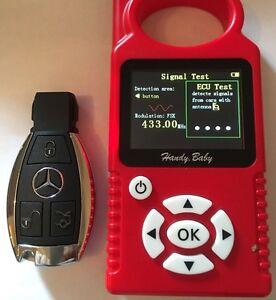 Schlüsselrohling Schlüssel Kontakt Zu Programmieren Elektronisch Mercedes Benz