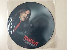"12"" picture disc by Meatloaf"