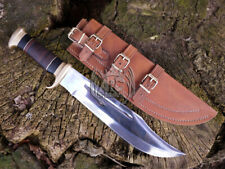 18'' OUTBACK BOWIE KNIFE CUSTOM HANDMADE CROCODILE DUNDEE LEATHER SHEATH BY ARC