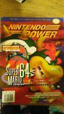 September 1996 Nintendo Power Video Game Magazine Super Mario 64 N64