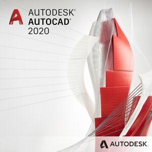 Autodesk AutoCAD 2020✔️Windows✔️Licence✔️Instance Delivery✔️