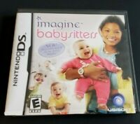 Nintendo DS Game Complete Plays Dsi Dsl 3DS ~ IMAGINE: BABYSITTERS ~ Kids Learn