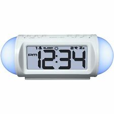 31112 Equity by La Crosse AC Powered Mood Light Alarm Clock with Nature Sound