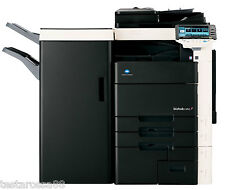 Konica Minolta Bizhub C652 Photocopier Printer Copy & Scan with Booklet Finisher
