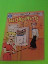 1977 BLONDINETTE BLONDIE & DAGWOOD #31-32  FRENCH HERITAGE EDITION RARE