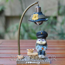 Zootopia Toys Judy Hopps Figure Led Night Light Cute Rabbit Home Decoration