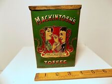 More details for early mackintosh halifax 4lb toffee shop display tin c1910