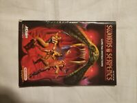 Swords and Serpents Nintendo NES Instruction Manual Booklet ONLY