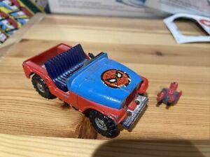 "Corgi 4"" SPIDERMAN JEEP CJ-5 Diecast Car SPIDERBUGGY VintageNo:261"