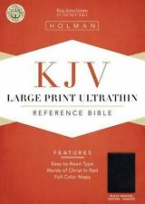 KJV Ultrathin Reference Bible 2013,  Leather, LARGE Print INDEXED  New & Sealed