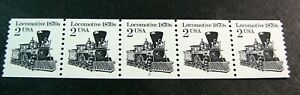 US PNC Stamp Scott# 2226a Locomotive P# 2 1987 MNH Dull Stock Picture H175