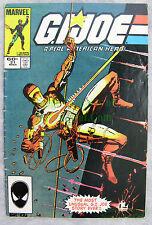 G.I. Joe #21 1984 VHTF 3rd PRINT 1st Storm Shadow Silent Issue NICE BIG PICS!