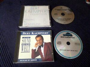 2 CDs Bert Kaempfert Dancing Wonderland Best Of Greatest Hits+Sound Geht um Welt