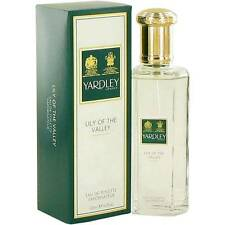 YARDLEY-LILY OF THE VALLEY FOR WOMEN-EDT-SPRAY-4.2 OZ-125 ML-AUTHENTIC-ENGLAND