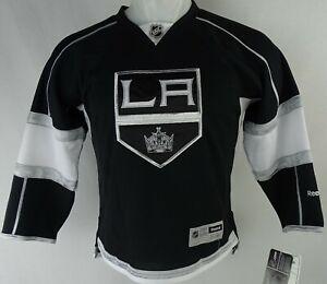 Los Angeles Kings NHL Youth Reebok Black Jersey
