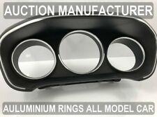 Renault Megane IV life Zen Chrome Cluster Gauge Dashboard Rings Speedo Trim