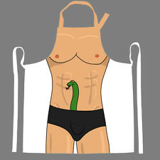 Snake in My Pants Apron- Funny Apron- Snake Apron- NEW