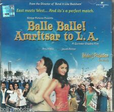 BALLE BALLE AMRITSAR TO L. A. - BRAND NEW BOLLYWOOD SOUND TRACK - FREE UK POST