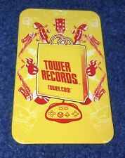 Vintage Tower Records Metal Gift Card Case