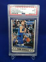 2018-19 Panini Threads #2 Luka Doncic Floor Generals Rookie RC PSA 9 Mint