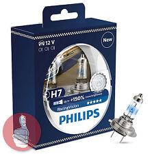 Philips H7 RacingVision bis zu +150% helleres Licht 2 Stück Set Halogenlampe
