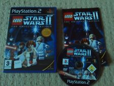 LEGO STAR WARS II: The Original TRILOGIA - RARO SONY PS2 GIOCO