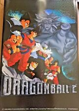 "Dragon Ball Poster HOLO Shiny Foil VTG DBZ BROLY GOKU UR RARE 34"" x 22"" HAVE FEW"