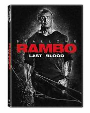 Rambo Last Blood (DVD, 2019) Sylvester Stallone Brand New & Sealed Free Shipping