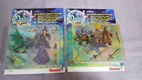 2 Sets Wizards Magic Figuren Simba Moc Neu Ovp Magic Circle - Zauberer & Drache