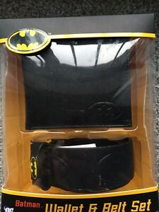 Batman Belt And Wallet Gift Set