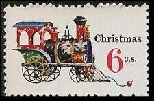 US 1415 Holiday Antique Toys Tin and Cast-iron Locomotive 6c single MNH 1970