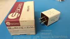 SIGMA INSTRUMENTS RELAY 4R-100LG-SIL RELAY NEW NOS