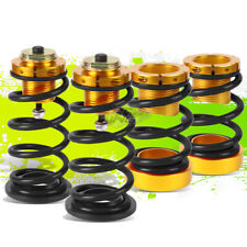 """BLACK SPRINGS 1""""-4"""" SUSPENSION COILOVER KIT REPLACEMENT FOR 06-11 HONDA CIVIC"""