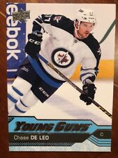 2016-17 UD Hockey Series 2 Young Guns #485 Chase De Leo