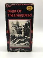 Night of the Living Dead 1986 VHS Horror George Romero Classic Zombie Flick