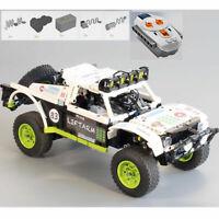 LEGO COMPATIBILE MOC-4874 Baja TROPHY TRUCK Double Trouble Monster RC motore