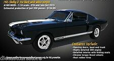 ACME A1801802B 1:18 1965 FORD SHELBY MUSTANG GT 350 BLACK LT ED DEALER EXCLUSIVE