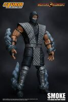 IN STOCK! Storm Collectibles Mortal Kombat Smoke Figure NYCC 2018 Exclusive New!