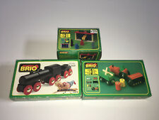 Lot Of 3 Brio Train Sets With Boxes
