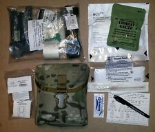 Multicam IFAK Newest Sealed Trauma Kit Gen7 Tourniquet & QuikClot / Strap Cutter