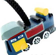 Tren Luz Pull, Ciegos O Cortina Pull / Cable Hecho A Mano En Madera. Azul, de comercio justo