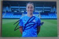 Lucy Bronze Signed 6x4 Photo Manchester City Everton England Autograph + COA